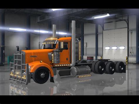 kenworth truck w900 kenworth w900 tri drive custom v1 0 by bu5ted for ats