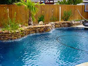 Designing Your Backyard Weeping Walls 4 Gold Medal Pools