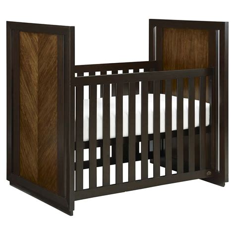 cherry veneer baby crib bassett home furnishings