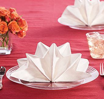 Ideas For Folding Paper Napkins - 327 best napkin folds images on napkin
