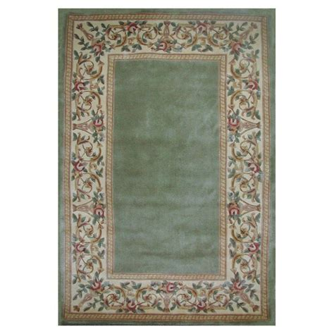 6 by 8 foot rugs kas rugs lush floral border 8 ft x 10 ft 6 in area rug rub89428x106 the home depot