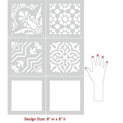 kitchen stencil designs tile stencils for walls floors and diy kitchen decor