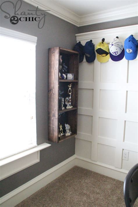 How To Build A Trophy Shelf by Diy Trophy For A Boy Room Shanty 2 Chic