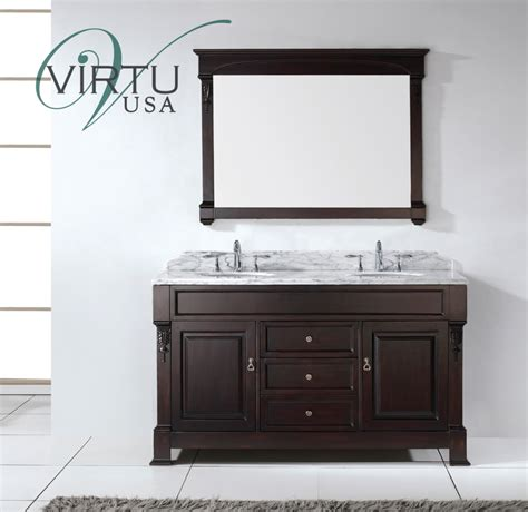 60 in bathroom vanity double sink 60 inch double sink bathroom vanity set with matching mirror uvvu4060wmdw59