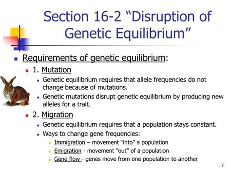 section 16 2 evolution as genetic change ppt biology chapter 16 the evolution of populations