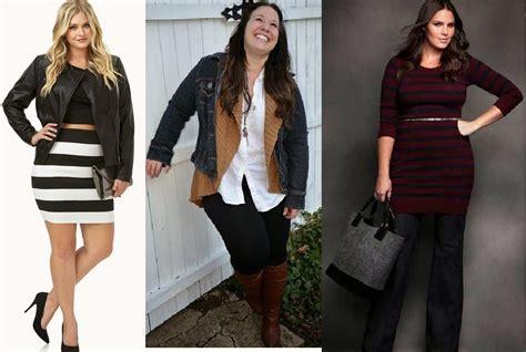 imagenes moda otoño invierno para gorditas moda para gorditas oto 209 o invierno para gorditas ropa