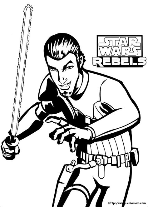 rebels ezra coloring pages coloriage kanan