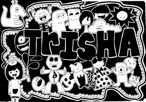 doodle name andrea doodle trisha by andreakris on deviantart