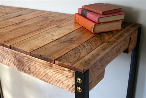wood standing desk standing desk industrial rustic reclaimed wood standing desk