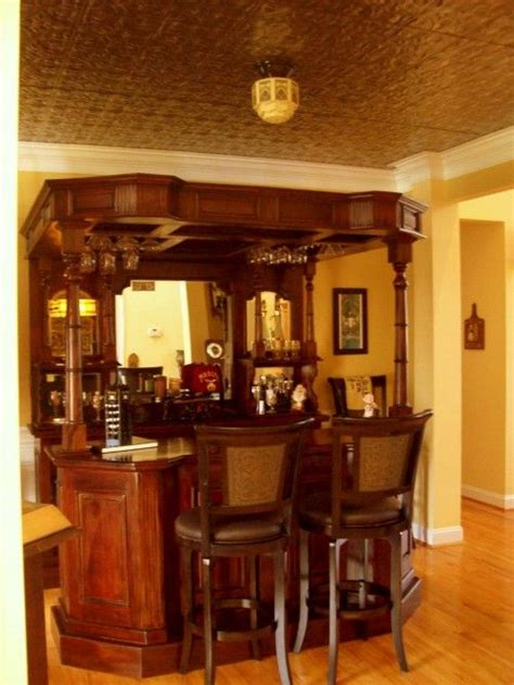 Dining Room Converted To Bar The Decor Isnt Upstatey But I Like Idea Of Bar