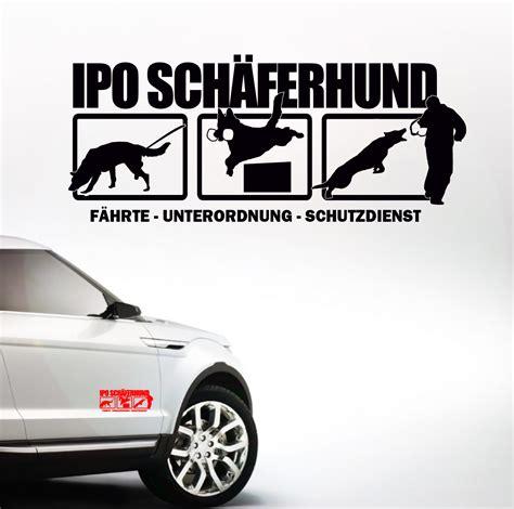 Aufkleber F R Auto Beagle by Auto Aufkleber Ipo Sch 196 Ferhund Sch 228 Ferhund Deutscher