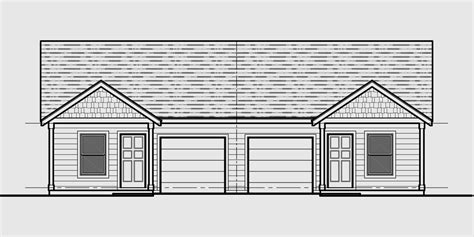 House Plans Two Master Suites One Story Duplex House Plans Corner Lot Duplex House Plans Narrow Lot