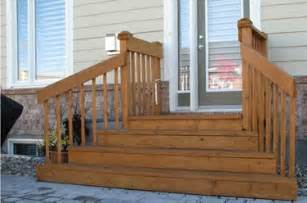 wooden steps and deck outdoor living