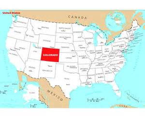 colorado map of us colorado usa map my