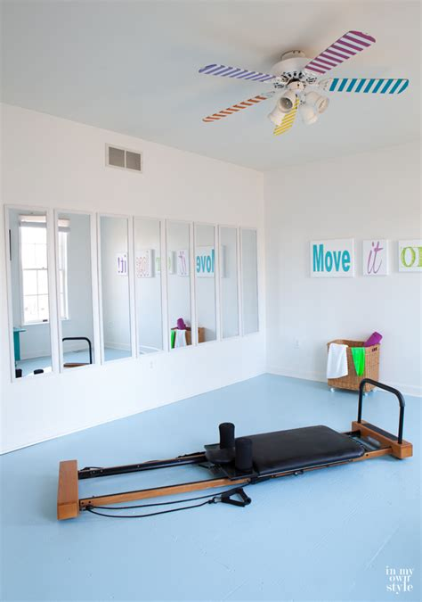 bedroom exercise fitness room mirrors in my own style