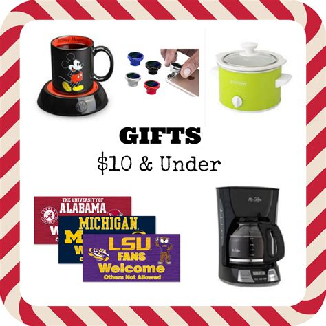 holiday gifts under 10 8 cash back