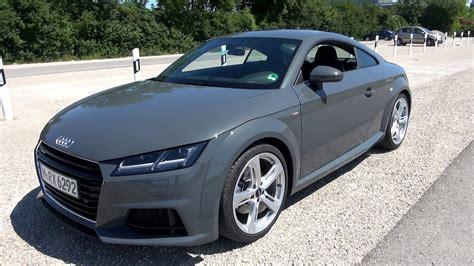 Audi Tt Quattro by 2015 Audi Tt 2 0 Tfsi Quattro 230 Hp Test Drive Youtube