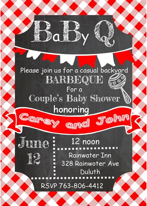 Free Baby Q Invitations Templates by Babyq Baby Shower Invitations New Selections Fall 2017