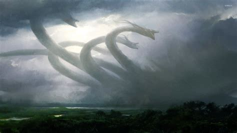 Magic - The Gathering wallpaper - Game wallpapers - #28587 Giant Sea Monster Skyrim