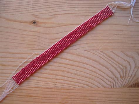 finishing a bead loom bracelet loom bracelet tutorial loom bead weaving bracelet patterns