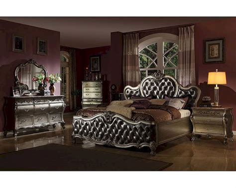 silver bedroom furniture sets silver bedroom set mcfb8302set 17062 | silver bedroom set mcfb8302set 14