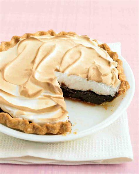 chocolate meringue pie recipe martha stewart