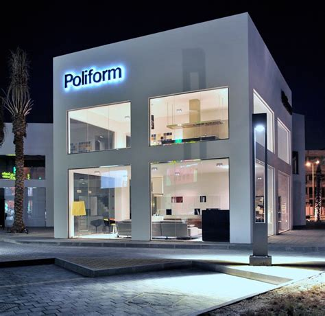 home design brand furniture new flagship store for poliform in bahrain architecture