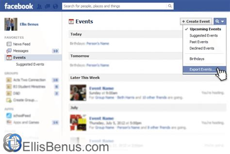 Design Facebook Event Page   sync facebook events with google calendar automatically