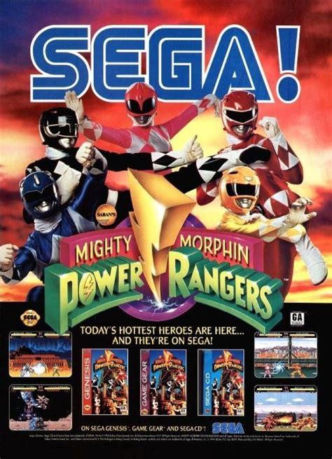 sega ad for power rangers morphinominal