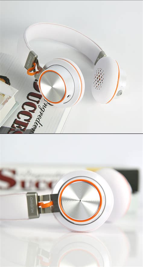 Headset Samsung Di Bec nubwo s2 hifi v4 1 wireless bluetooth headset 300mah on ear stereo sports headphone with mic