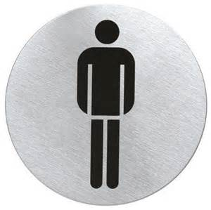 Modern Bathroom Signs Stainless Steel Restroom Sign S Contemporary Bathroom Accessories Other Metro