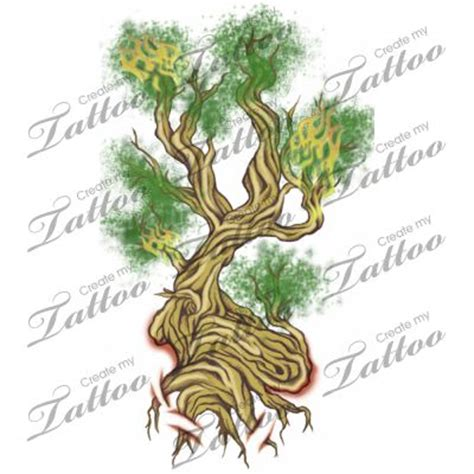 tattoo designs for sale marketplace bonsai tree on 121