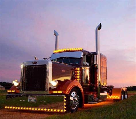 chicken lights and chrome peterbilt chicken lights big rigs pinterest lights