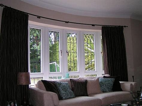 curtains for bay windows ideas 5 window bay window treatments window treatments design