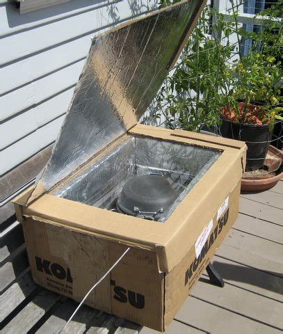 solar ovens diy how to make your own diy solar oven grid