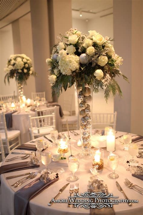 1000 ideas about winter wedding centerpieces on