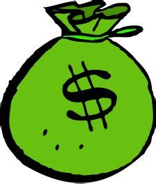 Free money bag green Clipart   Free Clipart Graphics