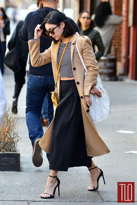 Vannesa Gamis Maxy Blazer style hudgens in new york city tom