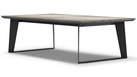 concrete top coffee table adal concrete top coffee table gray zuri furniture