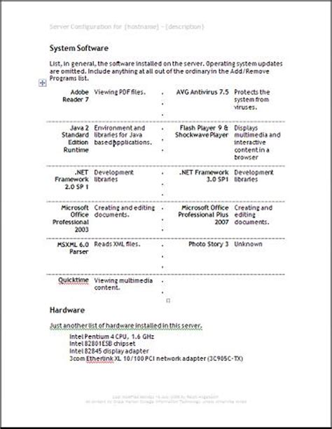project scope document project scope template