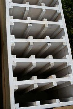 build your own refrigerated wine make your own wine rack full plans cut list lots of