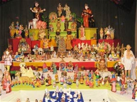 navratri decoration at home decorating the royal dolls for navratri pattada gombe