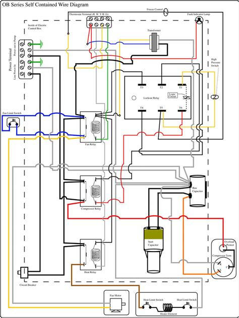 refrigeration diagram refrigeration unit