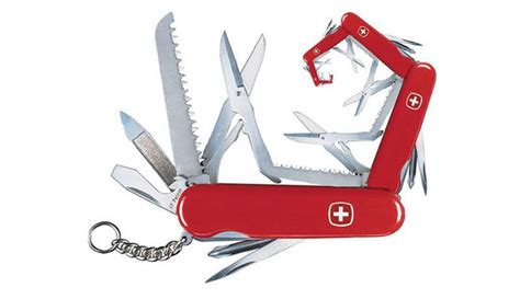 all in one swiss army knife an unabridged history of the swiss army knife newly