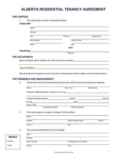 lease agreement template alberta alberta lease agreement template 28 images best photos