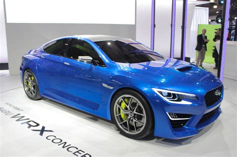 subaru show subaru wrx concept preview new york auto show