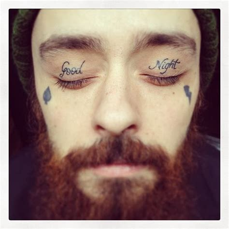 eyelid tattoos original tattoos and piercings galleries the