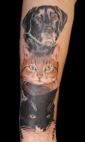 looking for unique blaze schwaller tattoos pet portrait