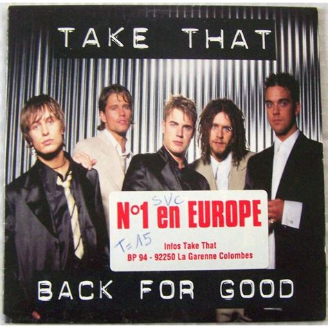 back for good back for good by take that cd 2 titres cds with