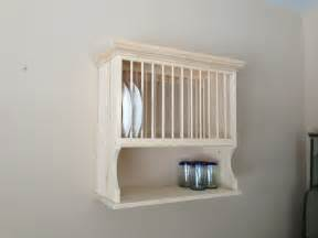 furniture awesome white cherry wood wooden plate rack